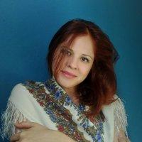 Лучшее украшение- русский платок! :: Елена Бушуева