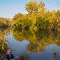 Вечерняя рыбалка на Деме :: Сергей Тагиров