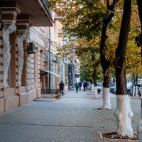 Сентябрь на Большой Садовой :: Александр Гапоненко