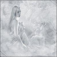 «Зажгу свечу, и помолюсь я Богу...» :: Angelina Ya
