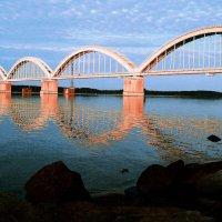 Волга, Мост. :: Юлия Фалей