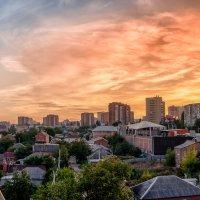Небесный пожар :: Александр Гапоненко