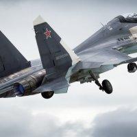 Су-30 в стандартной окраске ВКС РФ. Армия 2016 :: Дмитрий Бубер