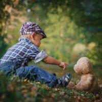 Рома и медведь :: Денис Усков