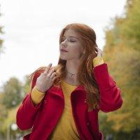 Рыжая осень :: Анна Городничева