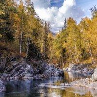 Осень на реке Кумир :: Галина Шепелева