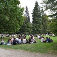 В парке. :: Лилия Дмитриева