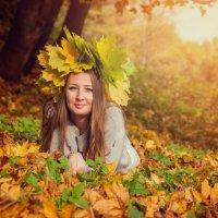 золотая осень :: Anna Enikeeva