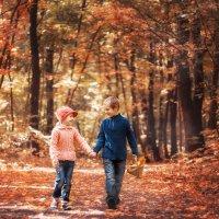 Детишки на прогулке :: Евгений Мельников