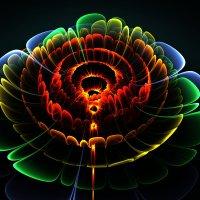 Абстрактный 3д цветок :: valery60