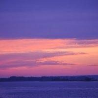 Сиреневый закат :: Сергей Тагиров