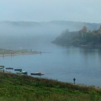 Туманное утро :: Надежда Бахолдина