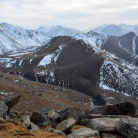 вечерние горы выше 3000 м :: Горный турист Иван Иванов