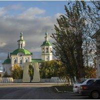 Вид на храм в честь Богоявления Господня :: Александр Максимов