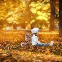 Осень с другом :: Виктория Дубровская