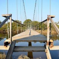 Мост подвесной :: Александр Морозов