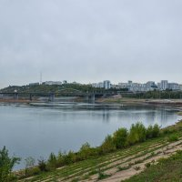 Город Уфа. Река Белая. :: Сергей Тагиров