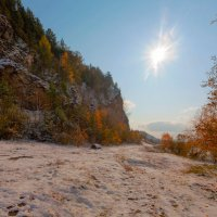 Осенний снег :: Анатолий Иргл
