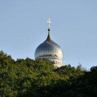 Купол храма-часовни Преображения Господня :: Александр Морозов
