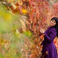 Багряная осень :: Анна