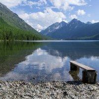 Нижнее Мультинское озеро :: Евгений Веселкин