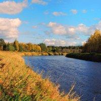 Осень золотая.Тверца. :: Павлова Татьяна Павлова
