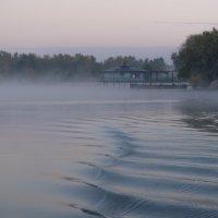 Туман на реке. :: Надежда Парфенова