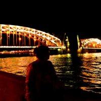 Большеохтинский мост :: Елизавета Егорова