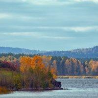Осенью на Иртяше. :: Сергей Адигамов