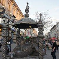 Памятник Коту Казанскому :: Елена Павлова (Смолова)