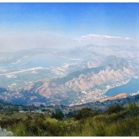 Панорама на Тиват и Котор :: Олег