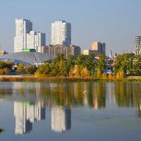 Осенние отражения Челябинска (3) :: Полина Потапова