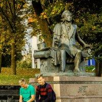 Памятник Пушкину в Минске. :: Nonna