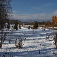 Пришла зима в Тункинскую долину... :: Александр Попов