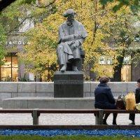 Осень в парке :: Константин Косов