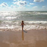 малыш и море :: Владимир Акилбаев