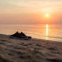 Вечерняя прогулка по пляжу босиком :: Gotardo Ro