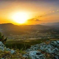 Крымские горы на рассвете :: Ольга