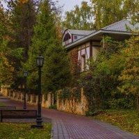 В осеннем парке городском... :: Альмира Юсупова