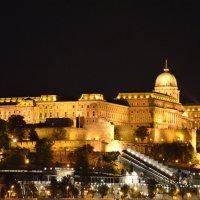 Королевский дворец вечером .Будапешт.Венгрия :: Anton Сараев