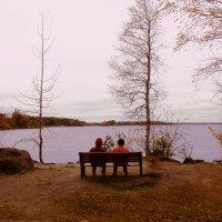 Осень в Монрепо :: Александра Кускова