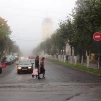 Туман в городе :: Елена Смирнова