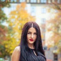 Autumn on the streets - осень на улицах города. Фотограф в Белгороде. :: Руслан Кокорев