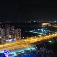 """Вид со смотровой площадки   отеля """"Ривьера"""". Мост Миллениум :: Елена Павлова (Смолова)"""
