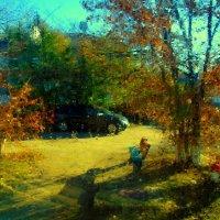 За окном осень... :: Милла Корн