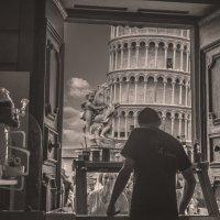 Окно в Пизу... :: Георгий Вапштейн