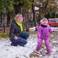 первый снег! :: Dmitry i Mary S