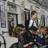 музыка в метро :: Наталия П