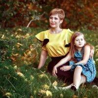 Мама и дочка :: Андрей Молчанов