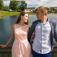 Пара на прогулке :: Руслана Дубицкая